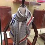 LV圍巾-022-2 專櫃限量新色原單開司米爾羊毛真絲方巾披肩