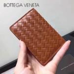 BV-273169-4 專櫃最新款歐洲原廠胎牛皮純手工編織零錢包卡片包