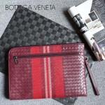 BV-V65359-3 進口胎牛皮刺繡款新色大號信封包手拿包