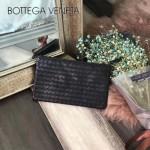 BV-V85329 最新款男女通用型胎牛皮純手工編織信封mini小包