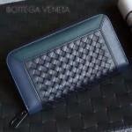 BV-V85318-6 經典編織胎牛皮平凡魅力拼色手包