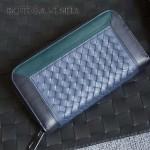 BV-V85318-7 經典編織胎牛皮平凡魅力拼色手包