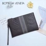 BV-V85343-2 專櫃最新款進口胎牛皮刺繡男士信封包繡線手包