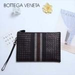 BV-V85343 專櫃最新款進口胎牛皮刺繡男士信封包繡線手包