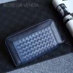 BV-V85318-5 經典編織胎牛皮平凡魅力拼色手包