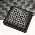 BV-V88307-3 新款純手工編織刺繡圖案雙折短夾錢包