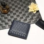 BV-V88307-2 新款純手工編織刺繡圖案雙折短夾錢包