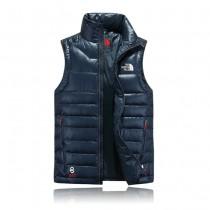The North Face-04-2 北面專櫃新款短款修身男士夾克背心羽絨服戶外保暖防寒馬甲外套