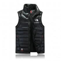 The North Face-04-4 北面專櫃新款短款修身男士夾克背心羽絨服戶外保暖防寒馬甲外套