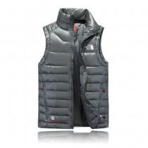 The North Face-04-3 北面專櫃新款短款修身男士夾克背心羽絨服戶外保暖防寒馬甲外套
