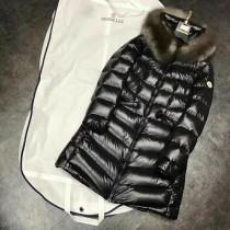 Moncler衣服-029 蒙口時尚禦寒新款女士銀狐毛領長款羽絨外套