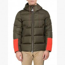 Moncler衣服-017-2 蒙口官網同步櫥窗款冬季保暖男士袖口拼色羽絨服外套