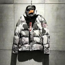 Ganada Goose-04 加拿大鵝明星最愛冬季禦寒遠征系列男款迷彩羽絨服