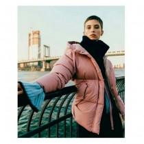 Moncler衣服-021 蒙口冬季爆款女士保暖連帽中長款羽絨麵包服