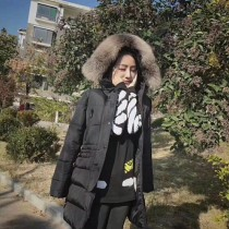 Moncler衣服-024 蒙口專櫃爆款冬季禦寒女士狐狸毛領長款羽絨服