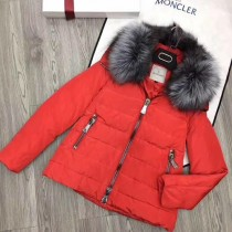 Moncler衣服-023-3 蒙口專櫃爆款定制防水記憶面料水晶狐狸毛領羽絨外套