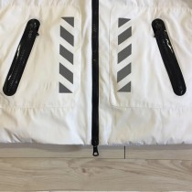 Moncler衣服-013-2 蒙口專櫃新品沖孔箭頭3M反光防水防風連帽羽絨服外套