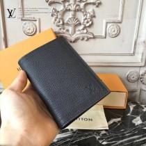 LV-M64137 原版小牛皮經典護照套時尚實用護照本