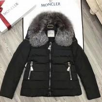 Moncler衣服-023 蒙口專櫃爆款定制防水記憶面料水晶狐狸毛領羽絨外套