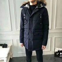 burberry衣服-02 巴寶莉冬季保暖禦寒男士連帽中長款羽絨服外套