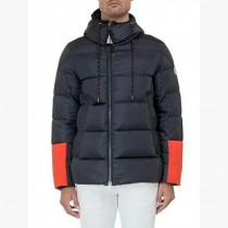 Moncler衣服-017-3 蒙口官網同步櫥窗款冬季保暖男士袖口拼色羽絨服外套