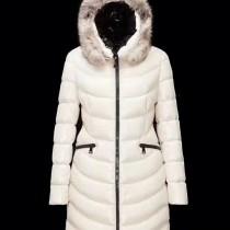 Moncler衣服-025-2 蒙口冬季禦寒新品原單aphia銀狐毛領收腰羽絨服外套