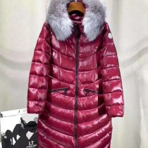 Moncler衣服-025 蒙口冬季禦寒新品原單aphia銀狐毛領收腰羽絨服外套