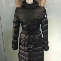 Moncler衣服-036 蒙口官網同步冬季保暖修身款貉子毛領長款羽絨服