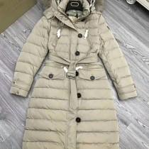 burberry衣服-04 巴寶莉專櫃限量版北美郊狼毛領長款羽絨外套