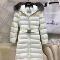 Moncler衣服-039-2 蒙口全智賢同款冬季保暖金島狐狸毛領長款羽絨服