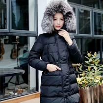 Moncler衣服-048 蒙口官網同步保暖女士銀狐大毛領羽絨外套
