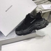 Balenciaga鞋子-04 權志龍同款Triple-S Sneaker時裝復古情侶款厚底做舊球鞋