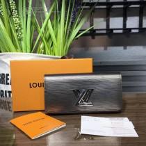 LV M62052 專櫃新品設計TWIST原單金屬色扭鎖長款翻蓋錢包