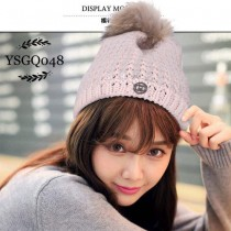 GUCCI帽子-02-3 古馳人氣百搭新款卡兔毛球羊毛針織帽