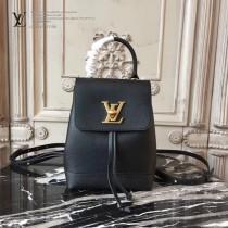 LV M54573-2 原版小牛皮花卉印花時尚潮流迷你雙肩背包
