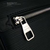 LV M51726 原單LV Kasai新款簡單實用拉鏈開口水波紋男士手包