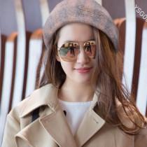 GUCCI帽子-03-2 古馳專櫃新品秋冬經典LOGO頂級羊絨貝雷帽