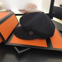 HERMES帽子-02 愛馬仕新款女士百搭高級羊絨八角帽