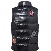 MONCLER衣服-01 最新MMJ合作限量版時尚潮流動感情侶款立領羽絨馬甲
