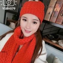 BV帽子-01 寶緹嘉重磅推薦新款羊毛針織帽子圍巾套裝