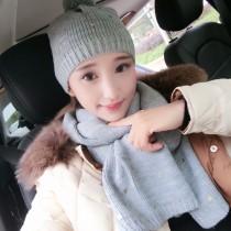 CHANEL帽子-08 香奈兒專櫃同款潮流羊毛針織帽子圍巾套裝