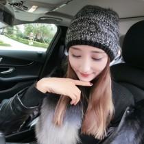 MONCLER帽子-01 蒙口秋冬時尚保暖卡兔毛球高級羊毛針織帽