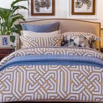 Ralph Lauren被子-01-2 拉夫勞倫秋冬新品幾何風格純棉床上四件套