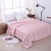 BERBURRY被子-01 巴寶莉紅磁養生蠶絲進口全棉貢緞8斤秋冬保暖棉被