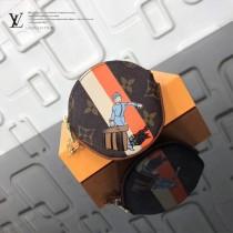 LV-01023-4 LV經典老花原單圓形零錢包