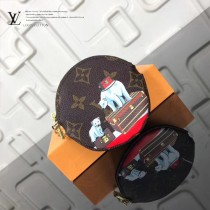 LV-01023-3 LV經典老花原單圓形零錢包