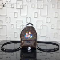 LV-M41562 family系列限量款早春新品經典帆布雙肩包