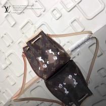 LV-M41346-2 柴犬經典帆布最新限量版原版迷你精緻NANO NOE手袋