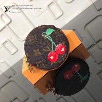 LV-01023-2 LV經典老花原單圓形零錢包