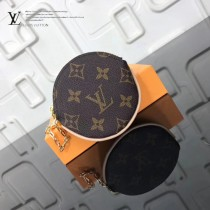 LV-01023 LV經典老花原單圓形零錢包